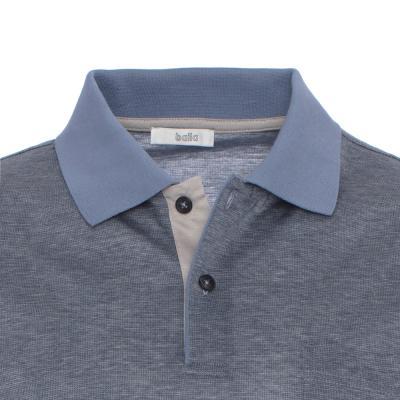 Baila - Baila Filafil Gri Mavi T-Shirt (1)