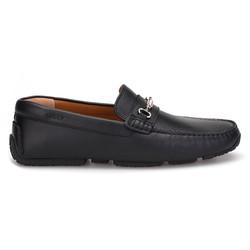 Bally - Bally Driver Shoe Siyah Dokulu Ayakkabı (1)