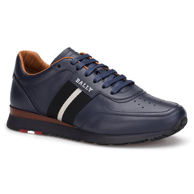 Bally - Bally Navy Blue Sneaker