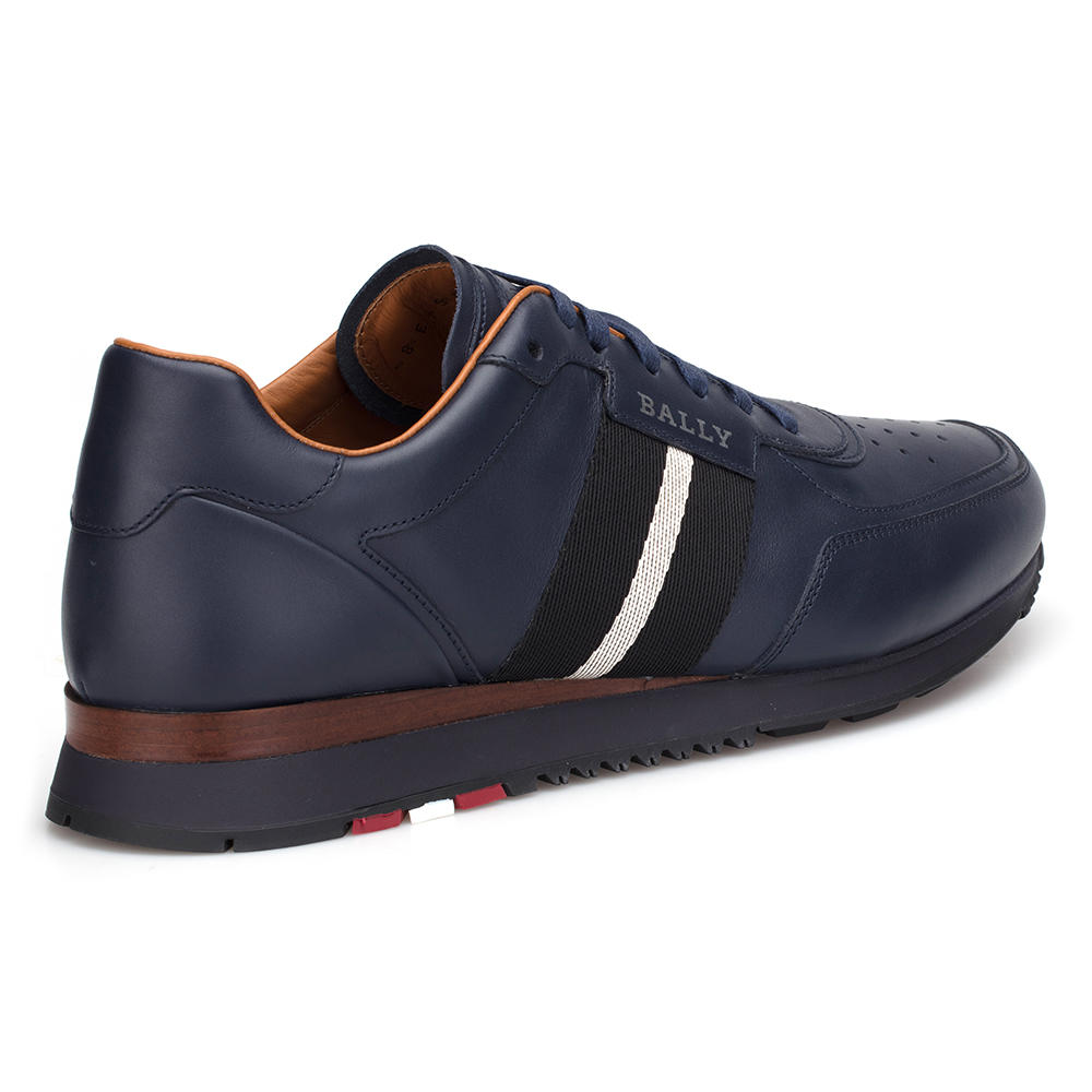 Bally Navy Blue Sneaker