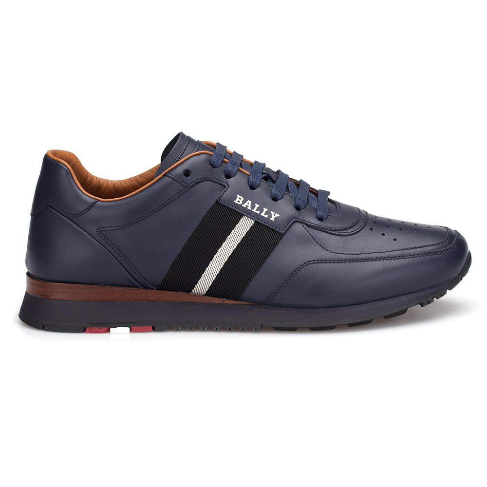 Bally Sneaker Lacivert Ayakkabı