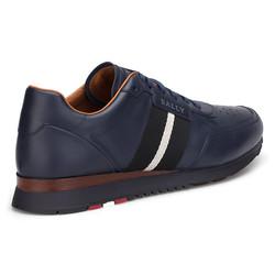 Bally Sneaker Lacivert Ayakkabı - Thumbnail