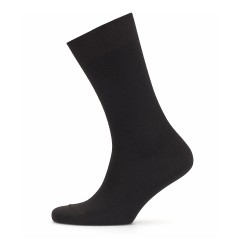 Bresciani Black Brown Herringbone Socks - Thumbnail