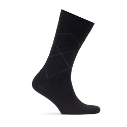 Bresciani - Bresciani Black Grey Socks