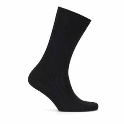 Bresciani Black Striped Socks - Thumbnail