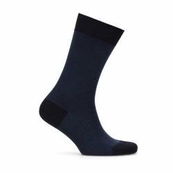 Bresciani - Bresciani Blue Herringbone Socks