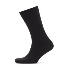 Bresciani - Bresciani Siyah Çizgili Yün Çorap (1)