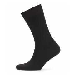 Bresciani - Bresciani Siyah Kahverengi Balıksırtı Çorap (1)