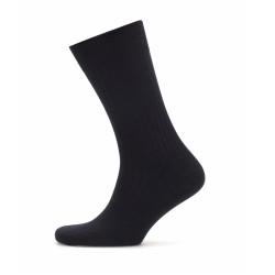 Bresciani - Bresciani Lacivert Çizgili Yün Çorap (1)