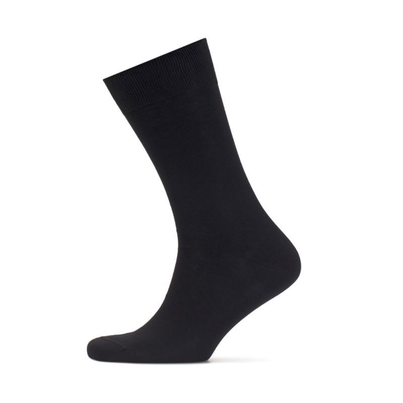 Bresciani - Bresciani Düz Siyah Çorap (1)
