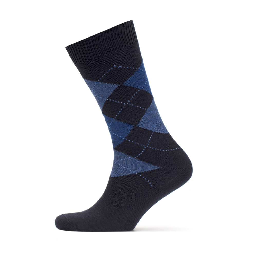 Bresciani Navy Blue Socks