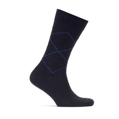 Bresciani Navy Blue Socks