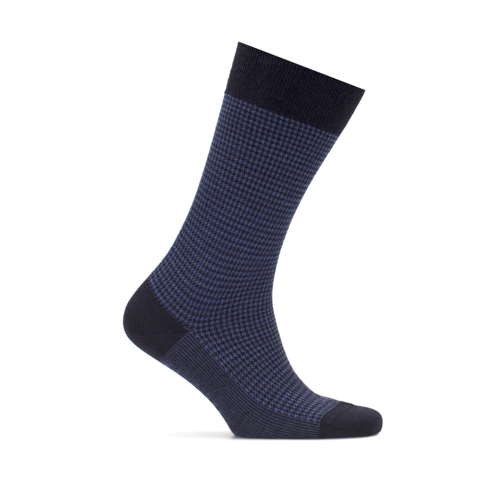 Bresciani Pied De Poul Lacivert Mavi Yün Çorap