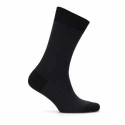 Bresciani - Bresciani Siyah Anthracite Herringbone Socks