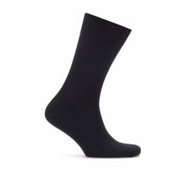 Bresciani - Bresciani Navy Stripe Wool Socks