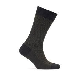 Bresciani - Bresciani Sottobosco Pied De Poul Antracite Nefti Socks