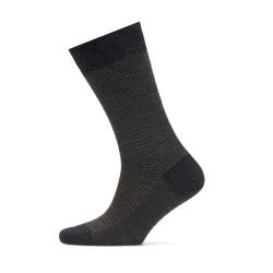 Bresciani - Bresciani Sottobosco Pied De Poul Antracite Nefti Socks (1)