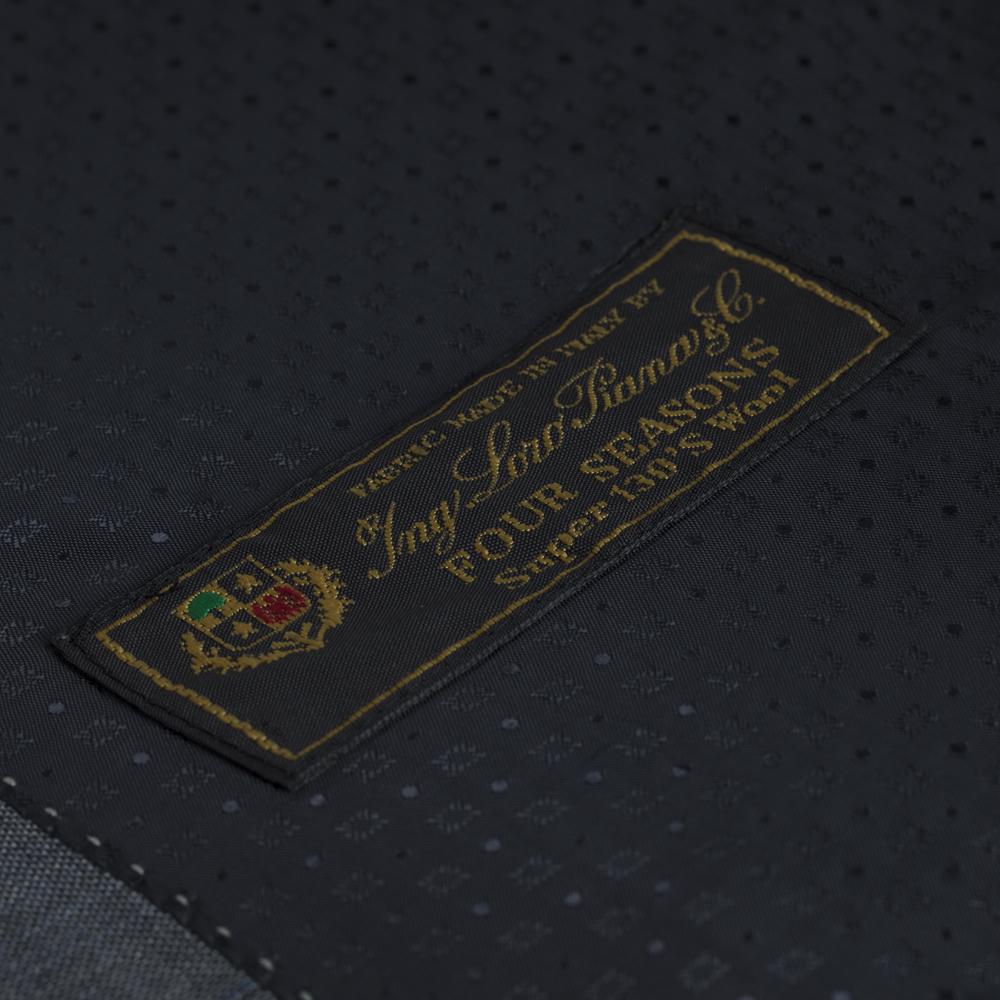 Carl Gross Açık Gri Kareli Takım Elbise