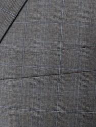 Carl Gross - Carl Gross Açık Gri Kareli Takım Elbise (1)