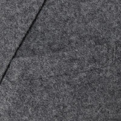 Carl Gross - Carl Gross Açık Gri Melanj Astarsız Slim Fit Yün-Akrilik Ceket (1)