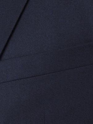 Carl Gross - Carl Gross A.Lacivert Flanel Yün Takım Elbise (1)