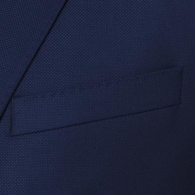 Carl Gross - Carl Gross A.Lacivert Süper 130S Wool Ceket (1)