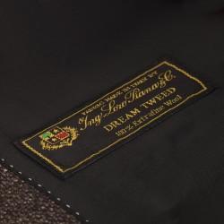Carl Gross Kahverengi Tweed Yün Ceket - Thumbnail