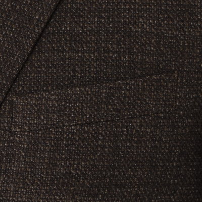 Carl Gross - Carl Gross Kahverengi Tweed Yün Ceket (1)