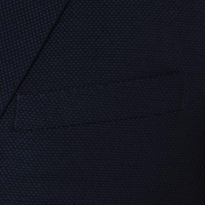 Carl Gross - Carl Gross Lacivert Yün Cashmere Ceket (1)