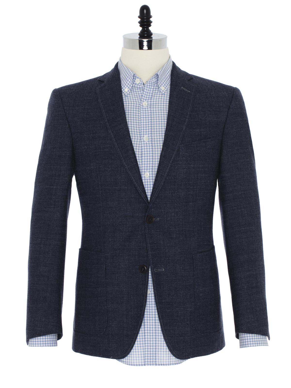 Carl Gross Mavi Yün Ceket