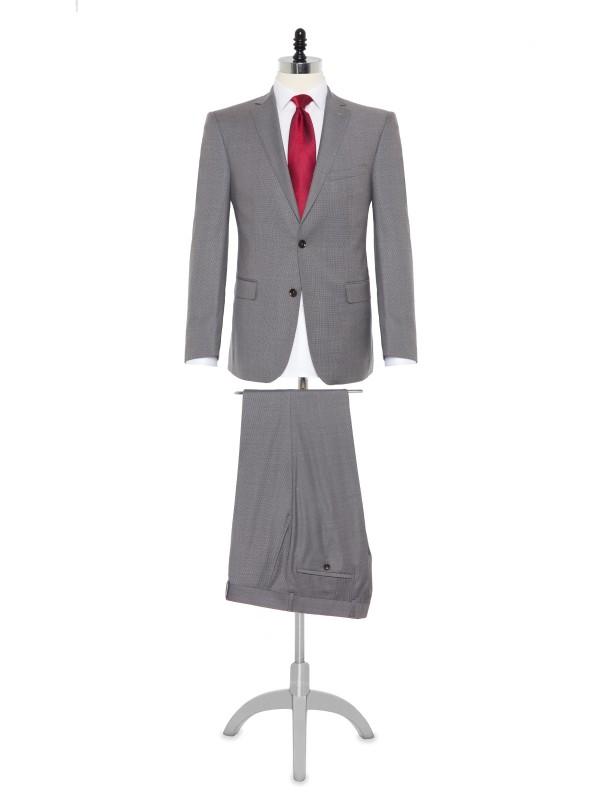 Carl Gross - Carl Gross Cerruti Prestige 130'S A.Gri Filafil Takım Elbise