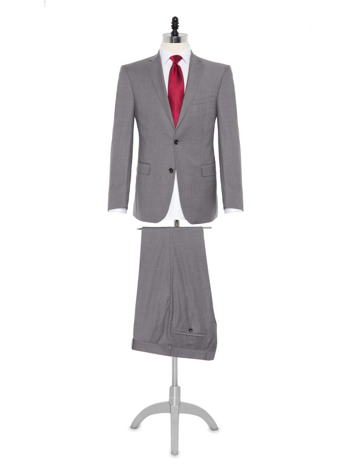 Carl Gross Cerruti Prestige 130'S A.Gri Filafil Takım Elbise