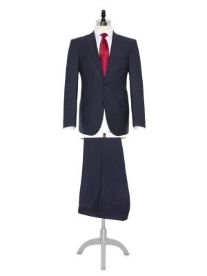 Carl Gross Cerruti Silk light Lacivert Yün İpek Takım Elbise