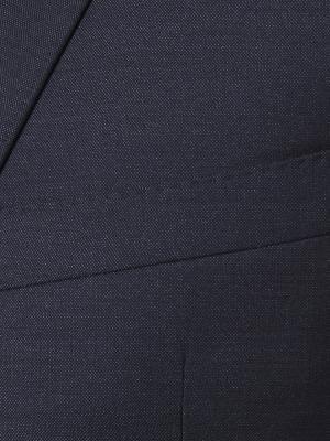 Carl Gross - Carl Gross Cerruti Silk light Lacivert Yün İpek Takım Elbise (1)