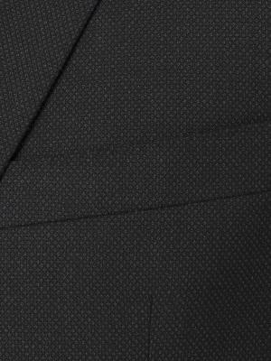 Carl Gross - Carl Gross Füme Kuş Gözü Yün Takım Elbise (1)