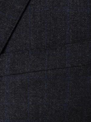 Carl Gross - Carl Gross Füme Prince de Galle Yün Takım Elbise Takım Elbise (1)