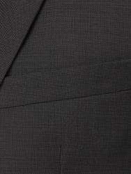 Carl Gross - Carl Gross Gri Fila Fil Yün Takım Elbise (1)