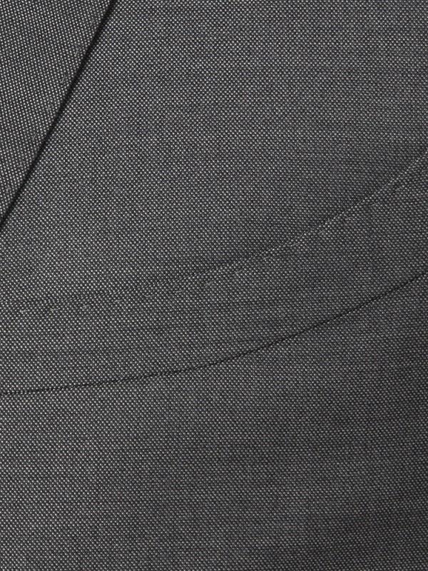 Carl Gross - Carl Gross Gri Yün İpek Takım Elbise (1)