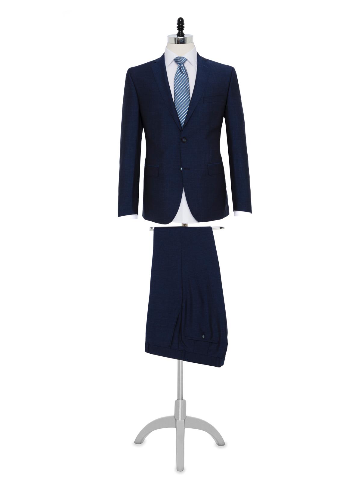 Carl Gross Havacı Mavi Takım Elbise