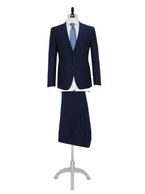 Carl Gross - Carl Gross Havacı Mavi Takım Elbise