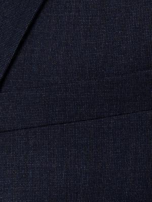 Carl Gross - Carl Gross Lacivert Filafil Yün Takım Elbise (1)