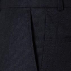 Carl Gross Lacivert Pied De Poula Yün Vitale Barberis Pantolon - Thumbnail
