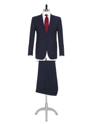 Carl Gross - Carl Gross Lacivert Prince De Galle Süperfine Australia Takım Elbise
