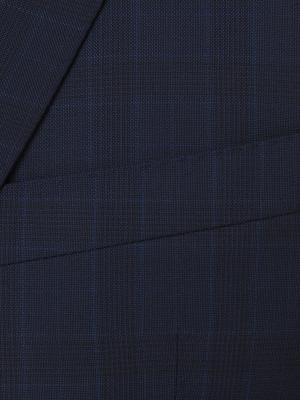 Carl Gross - Carl Gross Lacivert Prince De Galle Süperfine Australia Takım Elbise (1)