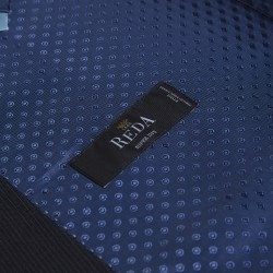 Carl Gross Reda Süper 100'S K.Lacivert Çizgili Yün Takım Elbise - Thumbnail