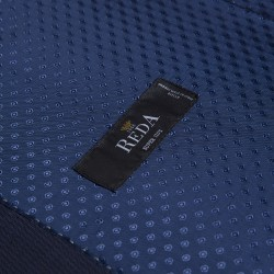 Carl Gross Reda Süper 110'S A.Lacivert Çizgili Yün Takım Elbise - Thumbnail