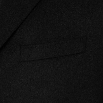 Carl Gross - Carl Gross Siyah %100 Kaşmir Kaban (1)