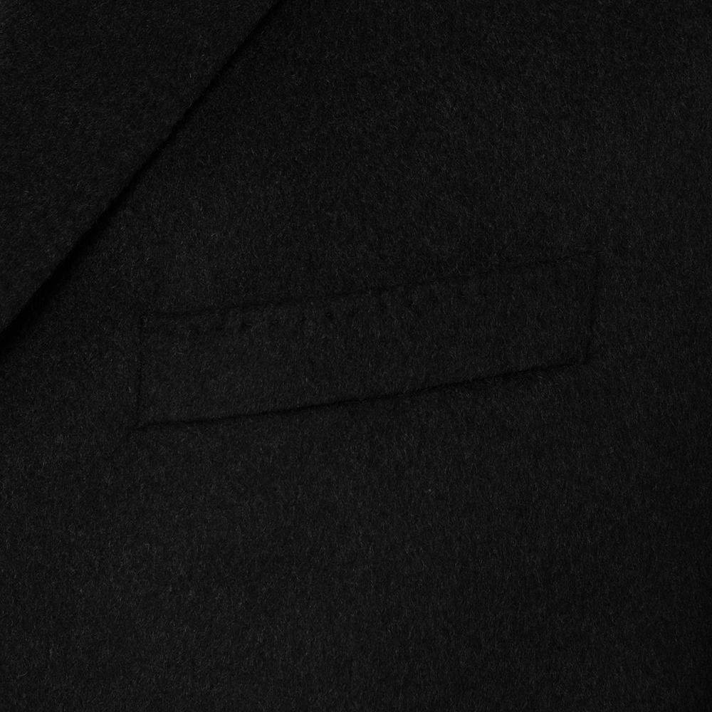 Carl Gross Siyah %100 Kaşmir Kaban