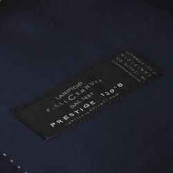 Carl Gross Lacivert Dokulu Takım Elbise - Thumbnail