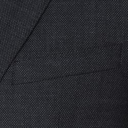 Carl Gross Kuş Gözü Füme Takım Elbise - Thumbnail